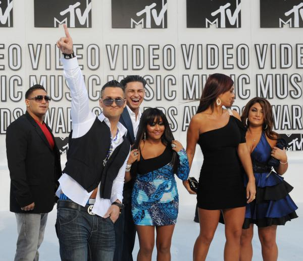jersey shore in italy fight. You get a fight between Ronnie